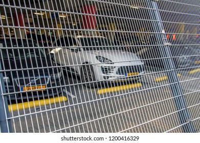 Parking Lot Under The Amsterdam Johan Cruijff Arena At Amsterdam The Netherlands 2018