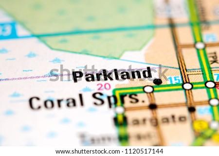 Parkland Florida Map.Parkland Florida Usa On Map Stock Photo Edit Now 1120517144