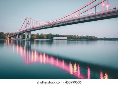 Parkovyi bridge | Kiev, Ukraine
