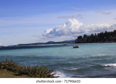 Parksville ocean shore