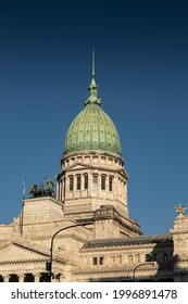 Parlament of Argentina in Plaza Congreso, Buenos Aires, Argentina