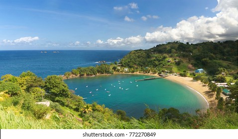 Parlatuvier bay - Caribbean sea - West indies - Antilles - Tobago