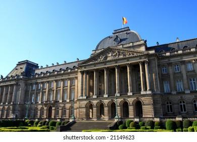 parliament of Belgium in Brussels