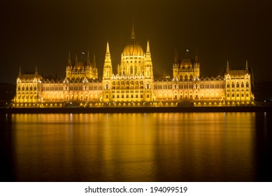 The Parliament in Budapest: Hungarian symbol of the city