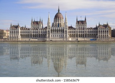 Parliament Building in Budapest, Hungary.
