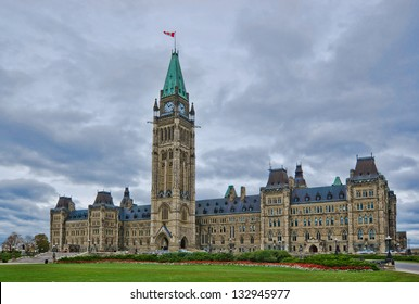 Parliament of Canada on Parliament Hill, on Ottawa