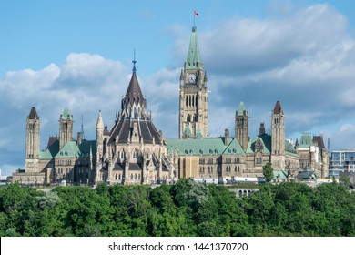 Parliament of Canada in Ottawa, ON