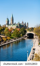 The Parliament of Canada and Rideau Canal
