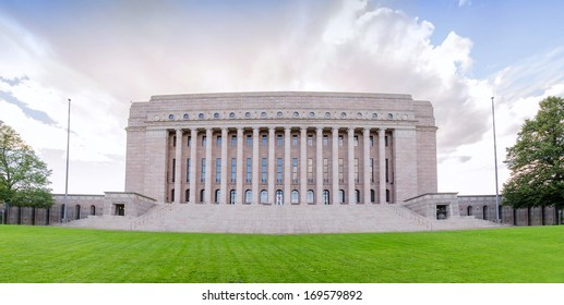 Parliament of Finland in Helsinky