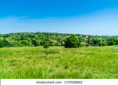 Parliament Hill in the south-east corner of Hampstead Heath, London UK