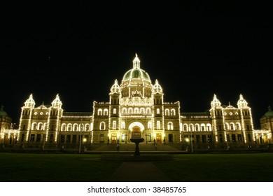 Parliament House of Victoria B.C. Canada