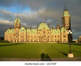 Parliament Palace in Ottawa-Canada