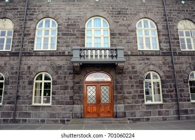 The parliament, Reykjavik, Iceland