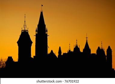 Parliament Silhouette