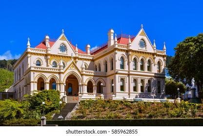 Parliamentary Library, New Zealand Parliament - Wellington, NZ
