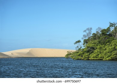 Parnaiba River (Portuguese: Rio Parnaiba), the longest river entirely located within Brazil's Northeast Region