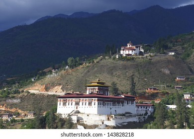 Paro Dzong (castle and monastery), also called Rinpung Dzong is a fortress & Buddhist Monastery in the Paro District, Bhutan. It houses the district Monastic Body & government administrative offices.