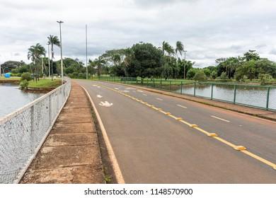 Parque da Cidade (City Park) in central Brasilia, Federal District, capital city of Brazil