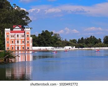 Parque de la Ex hacienda de Chautla Puebla