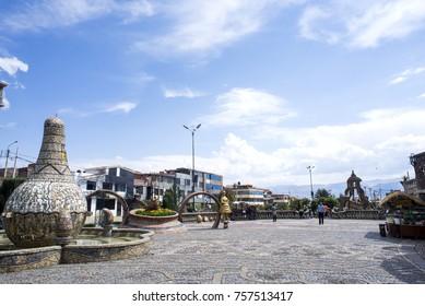 Parque De la Identidad - Huancayo, Peru. October 23, 2017