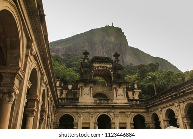 Parque Lage is tucked at the foot of the Corcovado, Rio de Janeiro. This is a historical landmark that became a public park.