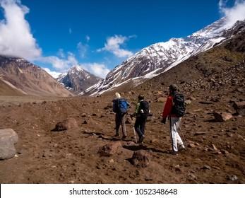 Parque Nacional Aconcagua in Mendoza, Argentina