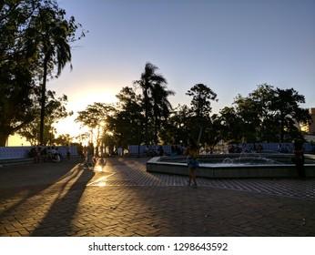 Parque Rodo in Montevideo, Uruguay
