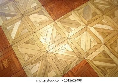 Parquet pattern flooring