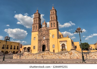 Parroquia Cathedral Dolores Hidalgo Mexico, Cradle of National Independence Where Father Miguel Hidalgo made his Grito starting the 1810 War of Independence in Mexico.