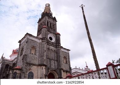 Parroquia de San Francisco de As's. Cuetzalan Del Progreso Puebla Mexico.
