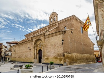 parroquilal Church of Our Lady of Hope in Calanda province of Teruel, in the autonomous community of Aragon, Spain