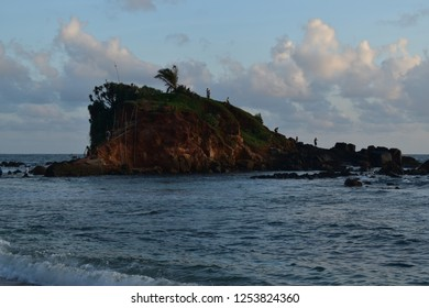 Parrot Rock Mirissa Beach