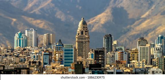 Pars Tower in Tehran Iran - Shutterstock ID 1886230975