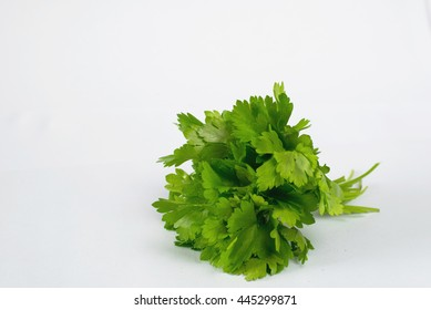 Parsley on the table