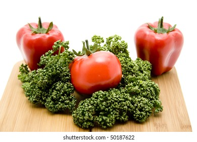 Parsley and vegetable