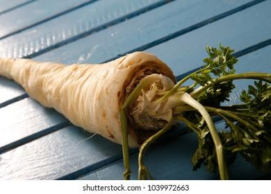 Parsnip fresh vegetables