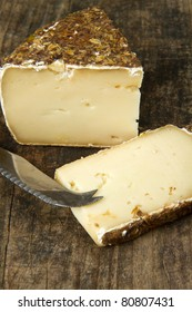 part of aged italian cheese
