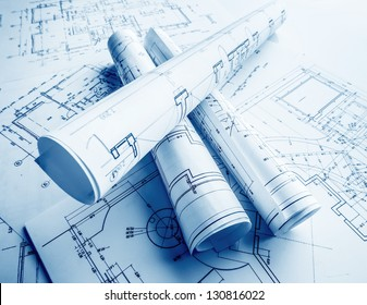 The part of architectural project