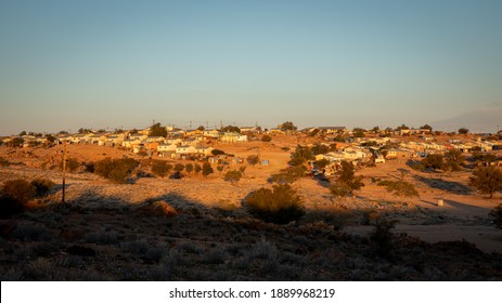 The part in Aus where the poor people live, Aus, Namibia.