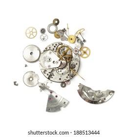 Part of broken watch