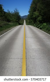 part of the carretera austral in chile