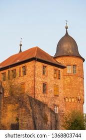 Part of the Castle Burg Wertheim