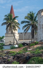 Part of a church in Cape coast Ghana which is located next to the castle as slave trade took place.
