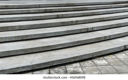 Part of Curve Concrete staircase