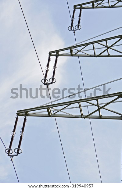 part of electric tower