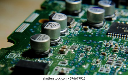part of electronic circuit