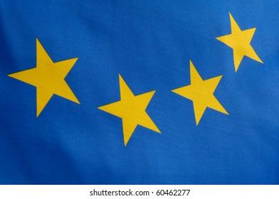 Part of a european flag