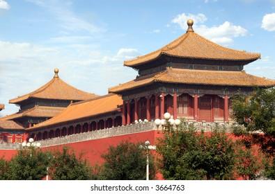 A part of Forbidden City