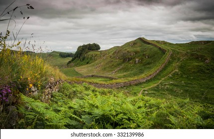 part of Hadrians wall England
