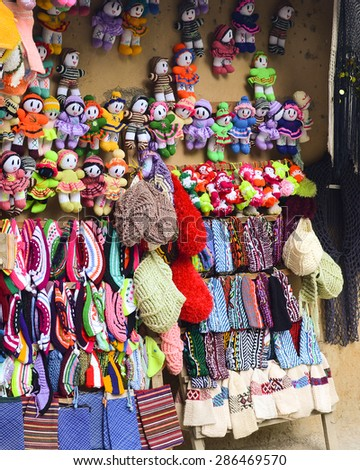 Part Handicrafts Masuleh Village Displayed On Stock Photo Edit Now
